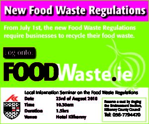 Advert for Food Waste Seminar KK2010